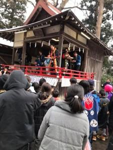 本日は、呑香稲荷神社の節分祭と、九戸村くのへスキー場のナイター感謝デーに来ております!