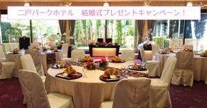 結婚式✨プレゼントキャンペーンStart!📣二戸パークホテルより、結婚式をプレゼント致します💞10名5組様限定プレゼント、5/25締切です!ぜひご応募ください‼️