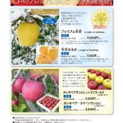 2020年 二戸のプレミアムりんご 数量限定・予約販売のお知らせ