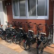 電動アシスト自転車「シェアサイクル」の実証運行について